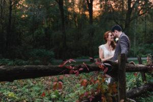 wedding at auberge du gallant